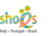 "Логотип ""Ё-Shoes@ - дистрибьютор обуви из Италии, Португалии, Бразилии"