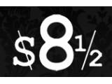 Логотип $8 1/2, концертный клуб-ресторан