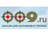 Логотип 009.ru, интернет-магазин охотничьих принадлежностей