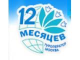 Логотип 12 месяцев