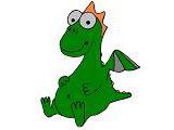 Логотип ''Лингвозаврик'' Детский развивающий монтессори-клуб