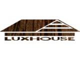 Логотип ЛюксХаус, строительная компания