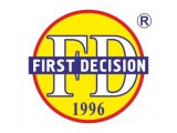 Логотип First Decision, Английский Лингвистический Центр