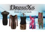 """Логотип """"allshatilo.ru"""" Интернет магазин платьев DressXs"""