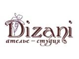 Логотип Ателье-студия DIZANI