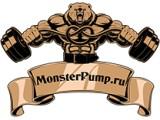Логотип MonsterPump.ru Магазины спортивного питания в Москве