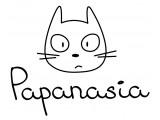 Логотип Papanasia - магазин канцелярии