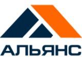 """Логотип """"Альянс"""" - качественный бетон точно в срок"""