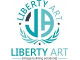 Логотип Либерти Арт, Рекламно-производственная компания (ООО)