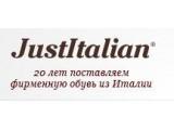 """Логотип """"JustItalian"""" - продажа обуви и одежды"""