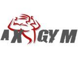 Логотип AXGYM - поставка спортивных тренажеров