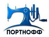 """Логотип Интернет-магазин швейной техники """"ПОРТНОФФ"""""""