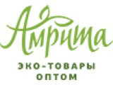 Логотип Амрита, ООО (эко товары из Индии оптом)