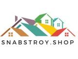 Логотип SnabStroy.shop Комплексное снабжение стройматериалами