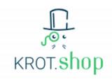 "Логотип ИНТЕРНЕТ-МАГАЗИН ""KROT.SHOP"""